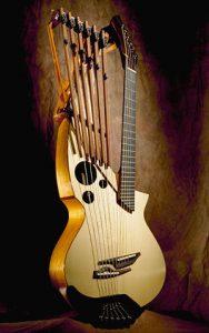 Matsuda harp guitar