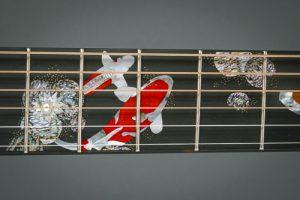 Custom inlay by Larry Robinson.